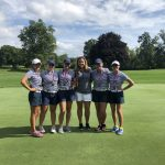 Girls Varsity Golf finishes 3rd place at Grosse Ile Invitational