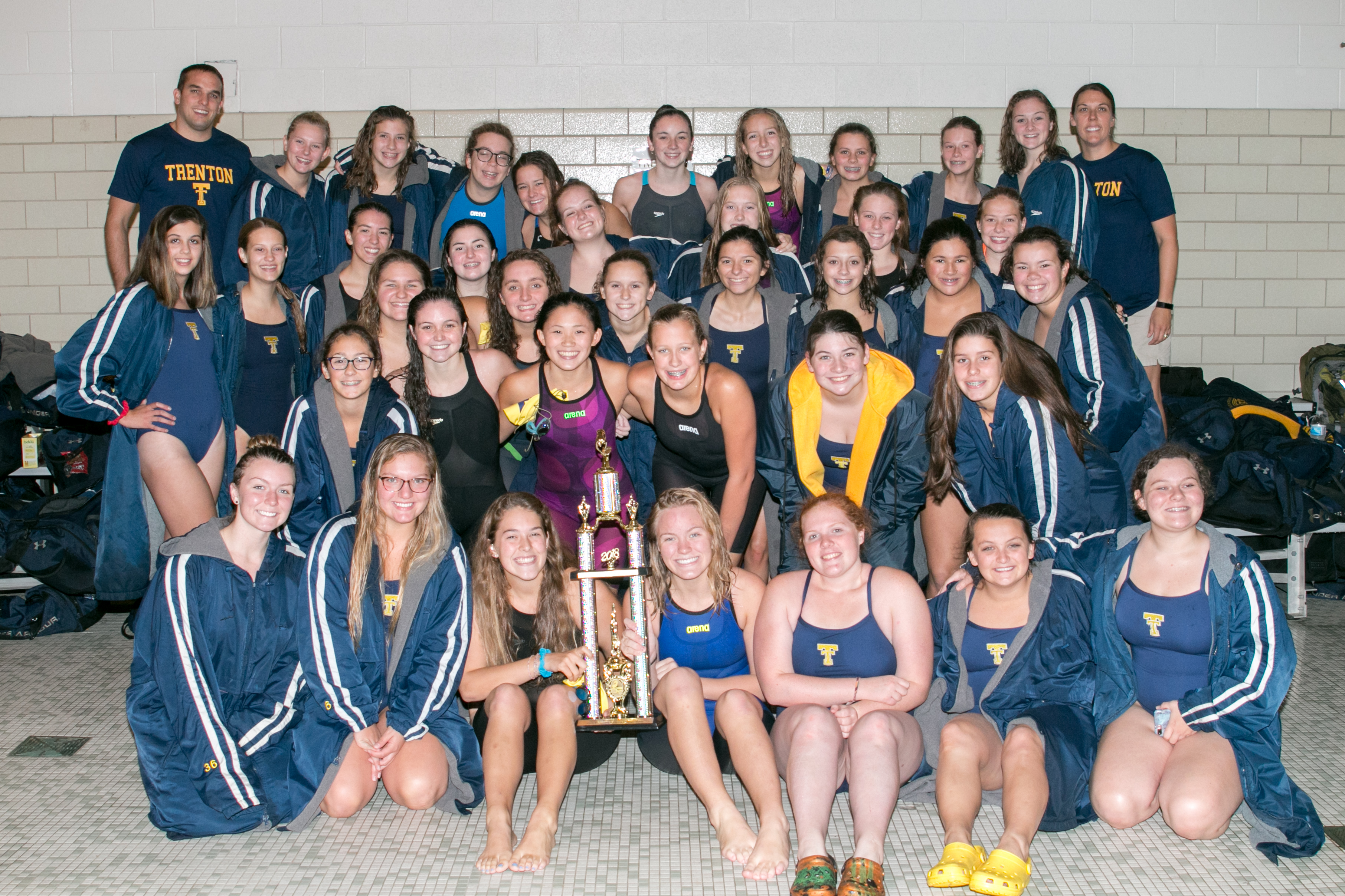 THS Girls Swim & Dive Capture Regular Season DRL Crown – 18Oct18