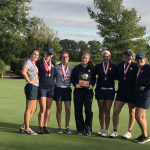 Girls Varsity Golf finishes 2 place at the Monroe Invitational