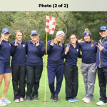 Girls Varsity Golf finishes 2nd place at MHSAA Division 2 Region 11 Golf Tournament
