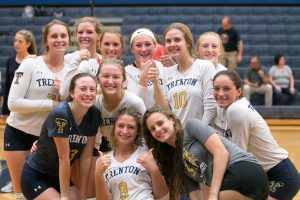 THS Volleyball vs Edsel Ford – 2018