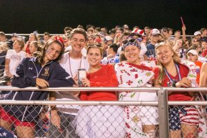 THS Football and Band vs Taylor – 21Sep18