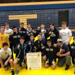 Boys Varsity Wrestling finishes 1st place at (Doyle McIntosh)