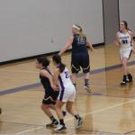Girls Varsity Basketball beats Woodhaven 49 – 17