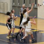 Girls Varsity Basketball beats Truman 43 – 32