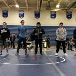 Wrestlers Scramble to take 3rd