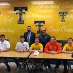 5 Trenton Trojans sign letters to continue football careers