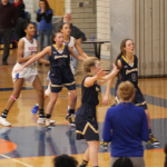 Girls Varsity Basketball beats Lincoln Park 54 – 46