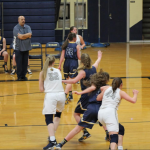 Girls Varsity Basketball falls to Roosevelt 43 – 37