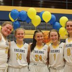 Girls Varsity Basketball beats Edsel Ford 49 – 11