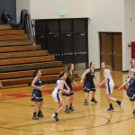 Girls Varsity Basketball beats Woodhaven 52 – 44