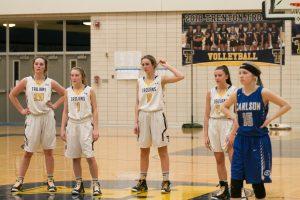 THS Girls Varsity Basketball vs Carlson