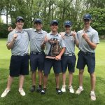 Trenton Boys Golf Team wins the MHSAA Division 2 Regional Championship!