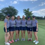 Girls Varsity Golf finishes 3rd place at Monroe Invitational