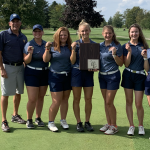 The Girls Golf Team wins the Downriver League Tournament!