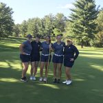 Girls Varsity Golf finishes 4th place at MHSAA Regionals
