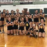 8th grade Volleyball wins AP Tournament!