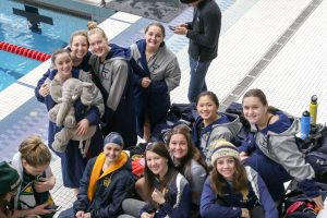 THS Girls Swim and Dive at State Meet 22-23Nov19