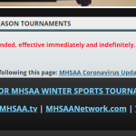 Effective immediately cancel all Trenton High School and Middle School Sports Activities