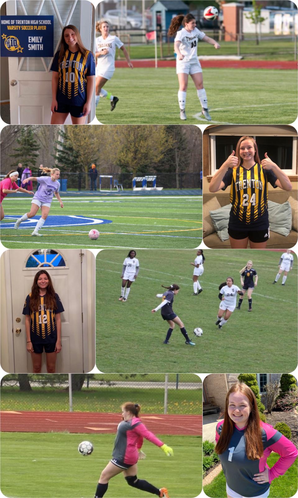 """2020 Trenton Trojans Girls Varsity ⚽️ Roster """"The Seniors"""" Part 2"""