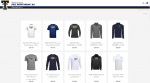 October online apparel store