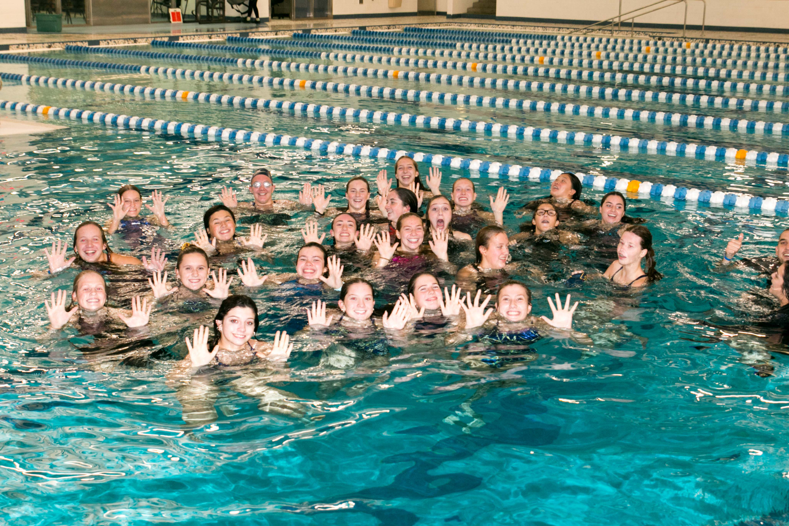 THS Girls Swim Champions – DRL Meet 05Nov2020
