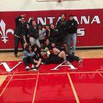 Godinez High School Girls Varsity Wrestling ties Santa Ana High School 0-0