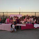 Cheer at Pink Out 10/6/17