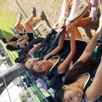 Godinez High School Girls Junior Varsity Tennis beat Saddleback High School 14-4