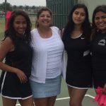 Godinez High School Girls Junior Varsity Tennis falls to Costa Mesa High School 14-4