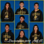 December 2017 Athletes of the Month