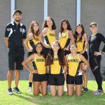 2017 Girls' Varsity Cross-Country Runners