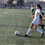 Girls JV Soccer vs Saddleback 1/18/18