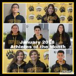 Godinez Celebrates January 2018 Athletes of the Month