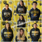 August 2018 Athletes of the Month