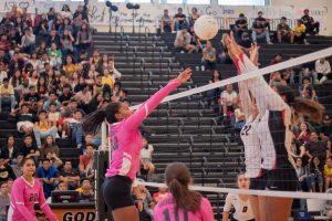 Girls Volleyball vs Sega 9/6/18 photos by C. Cornejo