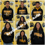 CONGRATS to Our AWESOME September 2018 Athletes of the Month!
