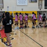 Girls Volleyball vs Westminster 9/27/18 photos by V. Espericueta
