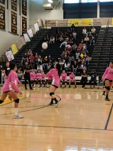Volleyball Senior Night vs Garden Grove 10/9/19