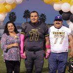 Football Senior Night 2018 photos by Chris Cornejo