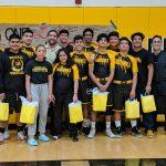 Boys Varsity Wrestling beats Garden Grove 45 – 29