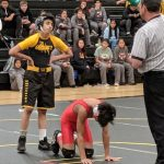 Boys Junior Varsity Wrestling beats Garden Grove 48 – 18