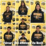 February 2019 Athletes of the Month