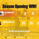 Boys Varsity Volleyball beats Los Amigos 3 – 0