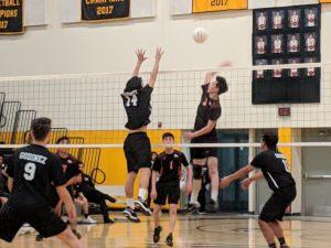 Volleyball Season Opener photos vs Lobos 2/20/19