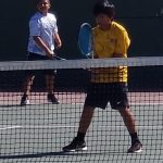 Boys Junior Varsity Tennis ties Westminster 9 – 9