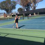 JV Girls Tennis Start With A Win!