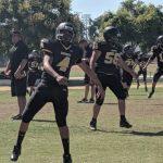 Boys Frosh/Soph Football beats Santa Ana Valley 34 – 8