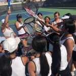 Girls Junior Varsity Tennis falls to Garden Grove 12 – 6