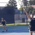 Girls Junior Varsity Tennis beats Westminster 14 – 4